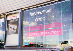 écran transparent Cusinella Pontarlier Houtaud