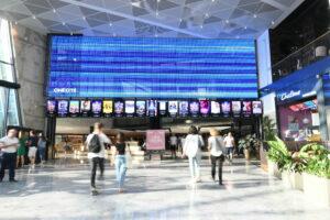 écran transparent UGC